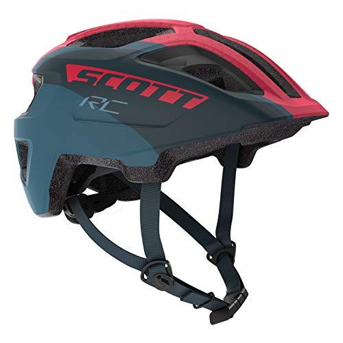 Scott Spunto JR Kinder Fahrrad Helm Gr. 50-56cm blau/pink 2019