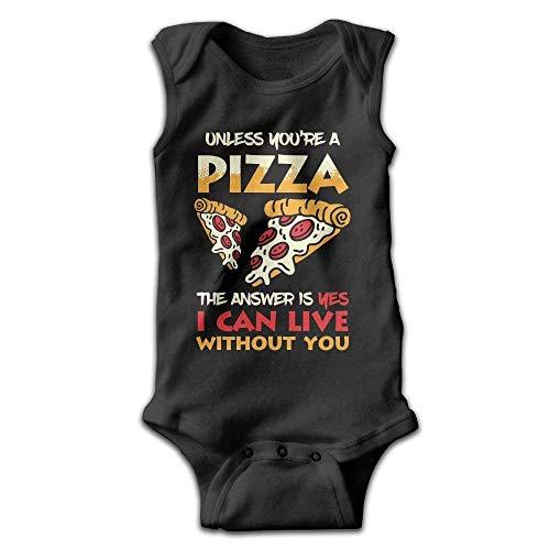 xcvgcxcvasda Ärmelloser Strampler für Babys Pizza Lovers Baby Sleeveless Romper Bodysuit Jumpsuit Cotton Comfortable Cute Pattern - Carters Striped Body