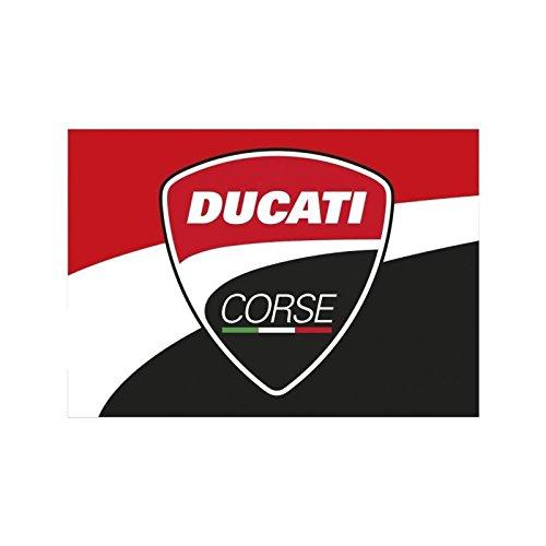 Ducati Corse Moto GP Racing Bandera Logo Rojo Oficial 2018