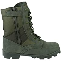 Savage Island Army Combat Side Zip Jungle Patrol Tactical Military Boots