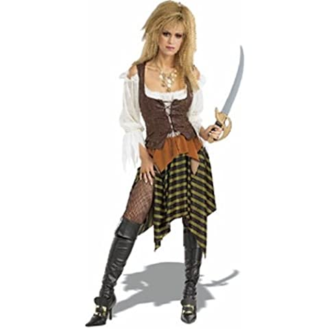 Woman Pirate Wench Costume Adult Fancy (Sexy Del Wench Del Pirata)