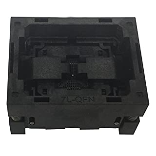 QFN52 MLF52 Burn in Socket NP506-052-065-C-G IC Test Socket Opentop Pitch 0.5mm Chip Size 8*8 Programming Socket Flash Connector Wholesale