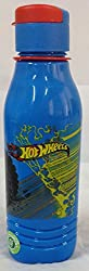 Hot Wheels Triangular Thermo Sipper Water Bottle - Blue
