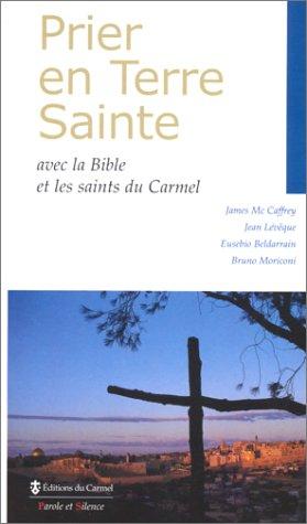 Prier en Terre Sainte. Avec la Bible et les saints du Carmel
