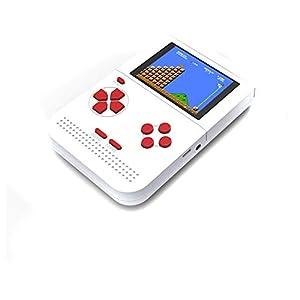 Mode Handheld-Spielkonsole, Mini FC Nostalgic Kinderspielkonsole, Tetris Handheld-Konsole PSP Handheld 300 Modelle,Black