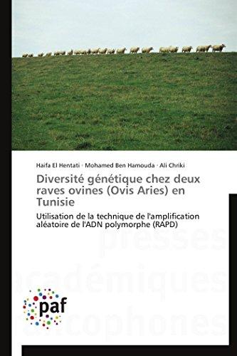 Diversité génétique chez deux raves ovines (ovis aries) en tunisie par Haifa El Hentati