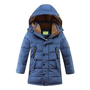 iDrawl Winterjacke für Kinder Jungen und Mädchen