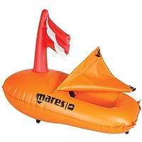 Mares Apnea - Boya Salvavidas, Color Naranja