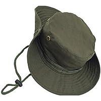 JUNGEN Camuflaje Sombrero Redondeado protección Solar Boone Sombrero al  Aire Libre Escalada Selva Hombres Mujeres tácticas 6a8d840dc9e