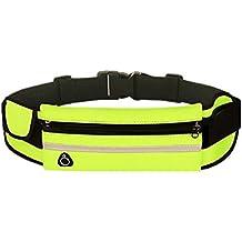 Doitsa Verde Bolsas Cinturón Riñonera Impermeable Para Viaje Outdoor Running