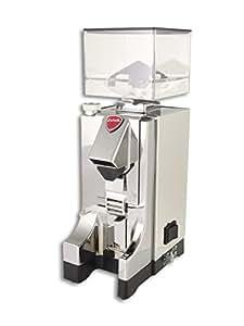 Eureka MCI Mignon Istantaneo M/T Moulin à café chromé avec meuleuse à disque