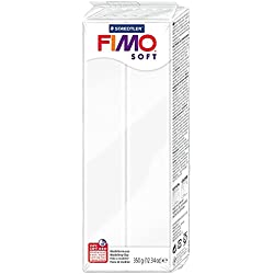 Fimo 8022-0 - Pasta de modelar, color blanco