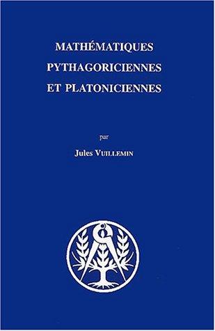 Mathématiques pythagoriciennes et platoniciennes