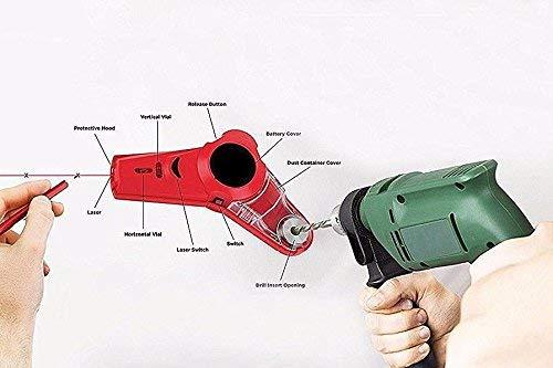 Trapano buddy-drill Raccogli-polvere livella laser