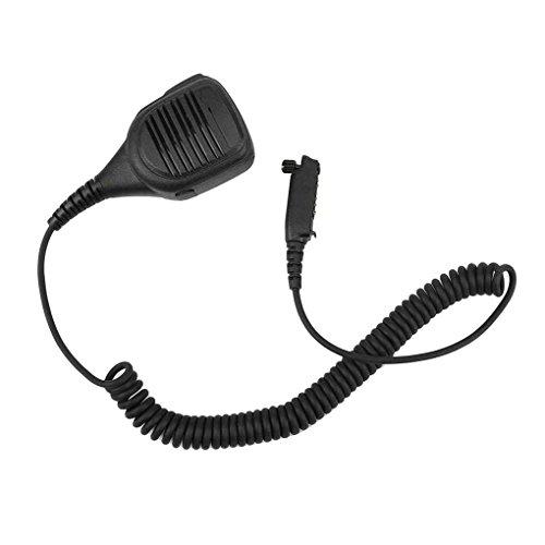 Morza IP54 Wasserdichte bewegliche Lautsprecher-Mikrofon für Motorola Walkie Talkie STP8000 STP9000 Zweiwegradio
