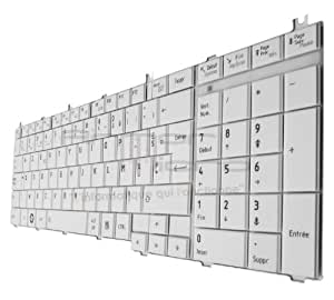 Clavier Pour TOSHIBA SATELLITE Equivalent H000027770 V114362DK1 0KN0-Y37FR01 - ARMORMICRO®
