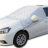 GJQDDP Auto Schneedecke, Auto Schneedecke Frontscheibe Frostschutzfolie Winter vorne Frostschutz für Auto-Serie Off-Road-Serie