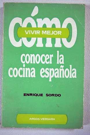 Cómo conocer la cocina española