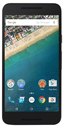 LG Nexus 5X Google Smartphone (13,2 cm (5,2 Zoll) IPS Display, 32 GB, Android 6.0 Marshmallow) Eisblau