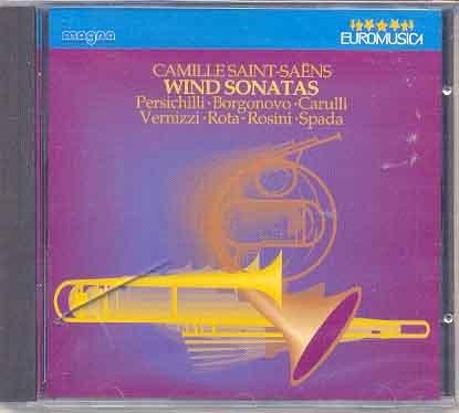 Saint-Saens - Wind Sonatas