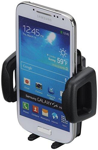 HR GRIP Mini Phone Gripper 6 Smartphonehalter für Smartphones & Handys von 42 bis 78mm [4-Loch-Rastersystem I 5 Jahre Garantie I Made in Germany] - 50010211