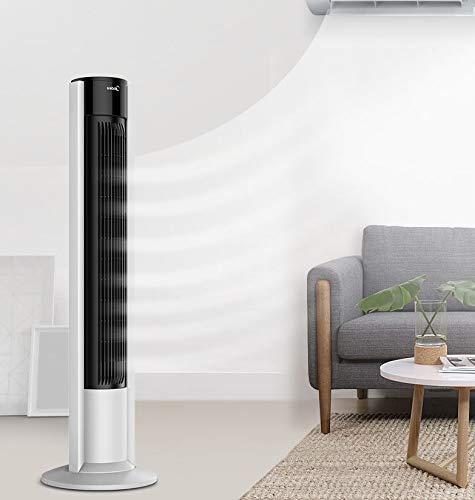 LifeAide Ventilador Eléctrico Silencioso Giratorio Interior Sin Hojas Segura Ventilador Sin Techo De...