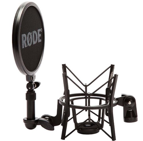 Rode-SM6-Mikrofon-Spinne-m-Popschutz-KEEPDRUM-Mikrofonstnder-MS107B-Mikrofonkabel-6m-Gratis