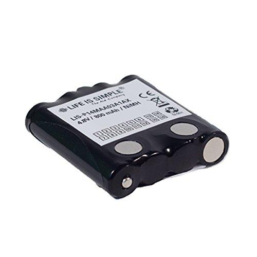 Motorola batteria 800mAh NIMH compatibile con Motorola TLKR T4, T5, TLKR-T7TLKR e XTR446, Micro Talk 80, 85, 100, 110, 115, 200, 300, PR500, PR900