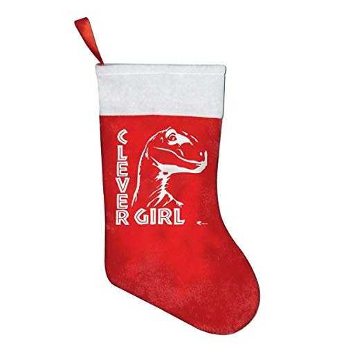 But why miss Clever Girl Dragon Classic X-Mas Christmas Socks Gift Bags Gift Bags Christmas Decorations Santa Claus Socks Candy Bags Red Penguin Classic Cap