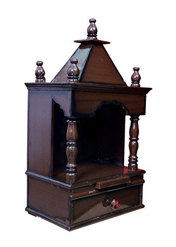 f5fc315c0 Buy Quality Creations Home temple Pooja mandir Wooden temple Temple for home  Mandir Wood temple Wooden home Temple - (30x20x58 cm
