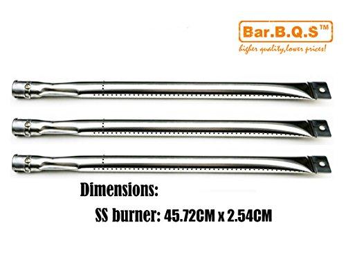 Bar.b.q.s 13181 (3-Pack) Ersatzteile Modelle Grill-Brenner Edelstahl-Rohr für perfekte Flamme Gasgrill von Lowe Models: GSC3318, GSC3318N, Uniflame Modell: GBC976W, GBC873W, GBC873W-C