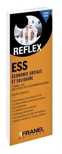 Economie sociale et solidaire par Philippe Baudoire