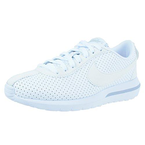 Nike Donna W Roshe Cortez NM scarpe sportive Bianco (Blanco (White / White-Pure Platinum))