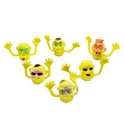 SimpleLife Finger Puppet Ghost Face Puppe Kind Baby Früherziehung Spielzeug Geschenk
