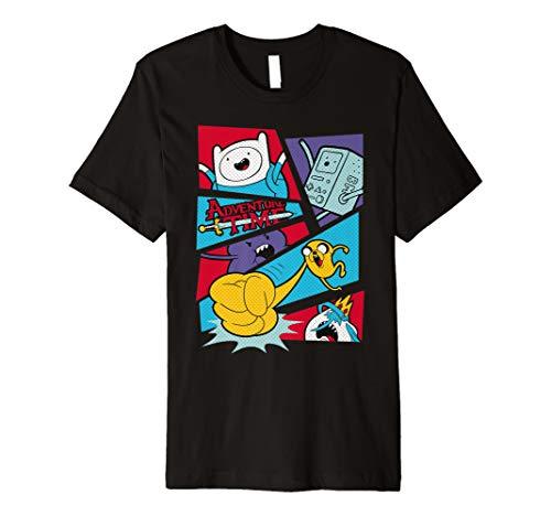 Offiziell Adventure Time Pop Art T Shirt