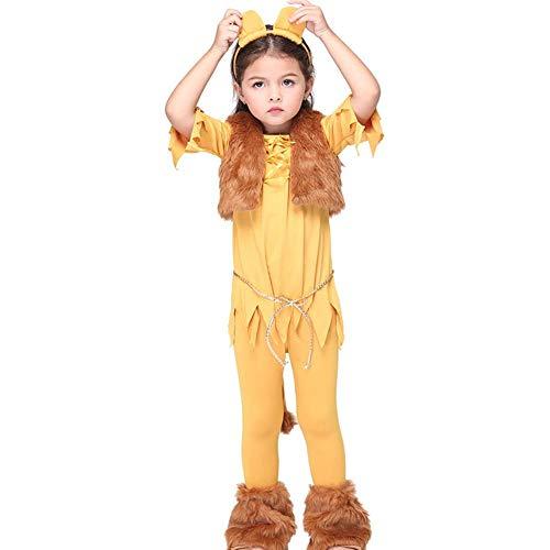 Kostüm Tanz Für Shows - QWE Halloween Kostüm Cosplay Leopard Tanz Kostüm Kinder Show Kostüm