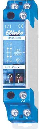 ELTAKO R12-020-230V - CONTACTOR ELECTROMECANICO 2NC 16A 250V