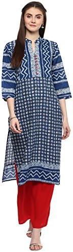 RISHABH Women's Cotton Straight Jaipuri K