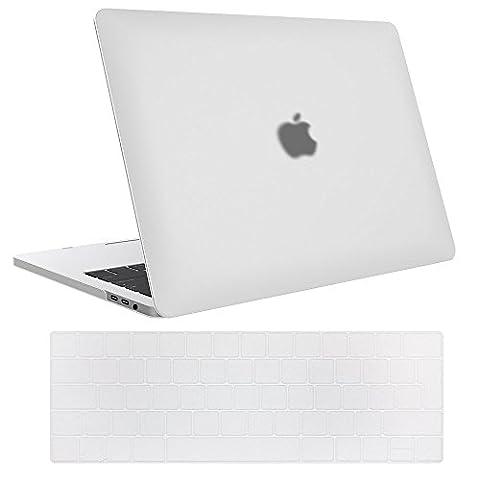MacBook Pro 15 Hülle 2017 & 2016 A1707, ProCase Gummierte Harte Fall-Shell-Abdeckung und Tastatur-Haut-Abdeckung für Apple Macbook Pro 15