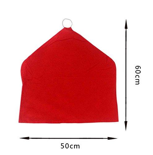 Dekorative stuhlhusse/klassische stuhlüberzug, rot (Stuhlhussen Klassische)