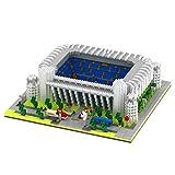 Portugal/Estadio Santiago Bernabeu, puzzle 3D|Real Madrid Santiago Bernabéu Estadio 3D Puzzle,Juego de construcción 3D
