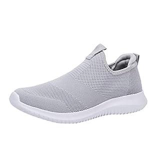 YEARNLY Herren Atmungsaktive Freizeit Ultraleicht Barfußschuhe Traillaufschuhe Schnell Mesh-Schuhe Trocknend, Gr. 35-48