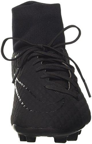 Nike Hypervenom Phelon 3DF FG–Chaussures de football–, homme, noir (Black/Black) Noir (Black Black 001)