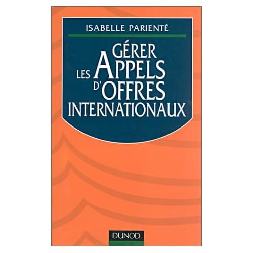 Gérer les appels d'offres internationaux