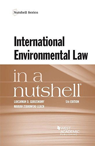 International Environmental Law in a Nutshell (Nutshells) (English Edition)