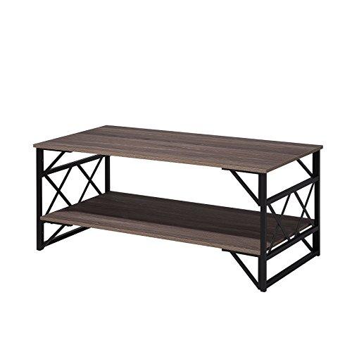 Table Basse plaqué en Bois de Chêne Bolton