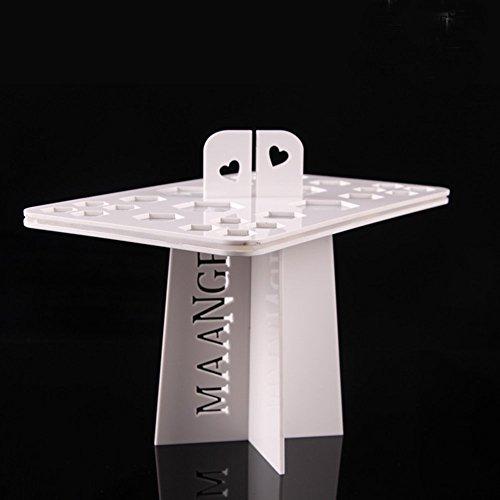 attachmenttou Pinsel Air Drying Organizer Silikon Halter Standplatz Display MakeUp Tool zusammenklappbare