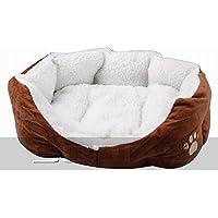 TOOGOO (R) Cama + Sofa Cojin Caliente Comodo para Perro Gato - Color Marron