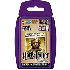 Winning Moves GmbH win62806 No Top Trumps: Harry Potter y el Prisionero de Azkaban, Juego