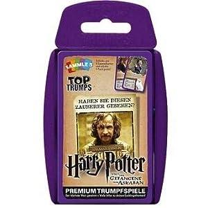 Winning Moves GmbH win62806No Top Trumps: Harry Potter y el Prisionero de Azkaban, Juego